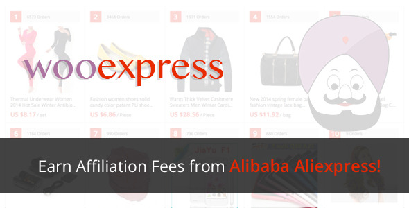 WooExpress v1.2.1 - Woocommerce Aliexpress Affiliates