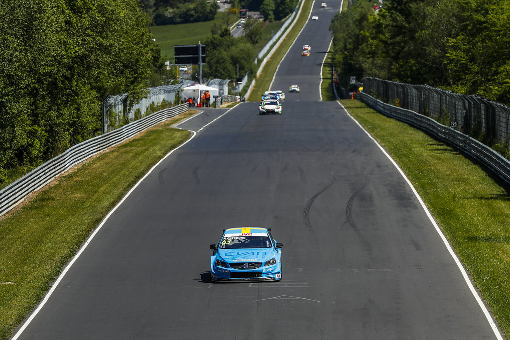 63 CATSBURG Nicky (ned), Volvo S60 Polestar team Polestar Cyan Racing, action during the 2017 FIA WTCC World Touring Car Race of Nurburgring, Germany from May 26 to 28 - Photo Florent Gooden / DPPI