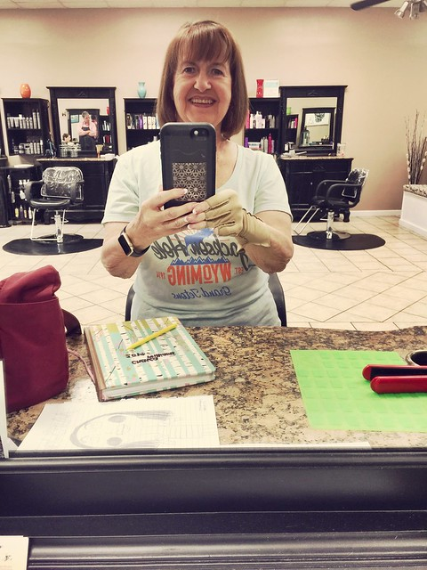 147/365 AND Day 3819: Hair Trim & Set