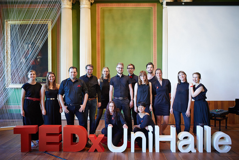 the Team of TEDxUniHalle 2017