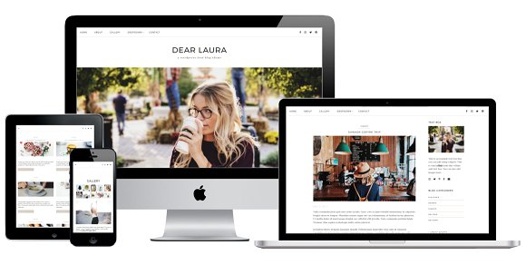 DEAR LAURA v1.0.0 - Minimal WordPress Blog