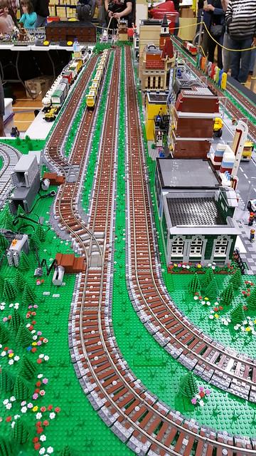 Brickslandia at the Epping model railway show 2017