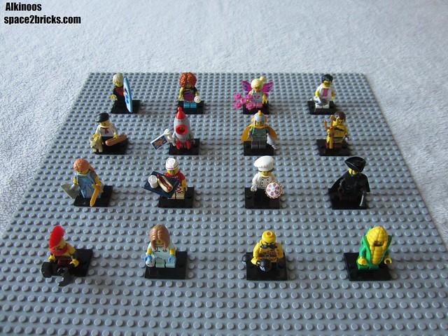 Lego minifigures S17 p45