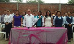 GADM Chone inicia espacio cívico cultural en UE Juan Montalvo