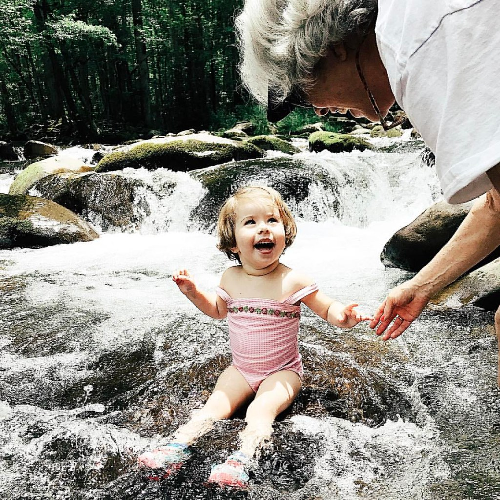 Water baby. #waterbaby #children #river #appalachianmountains