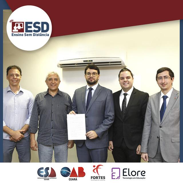 Ensino sem Distância - ESACE firma convênio com Elore Tecnologia