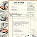 Rechnung für einen LLOYD LP 400 S vom 18. April 1955 by altpapiersammler