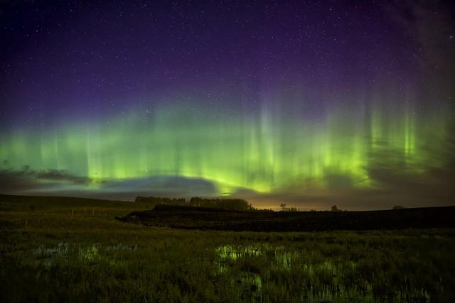 May 17 Aurora at twilight