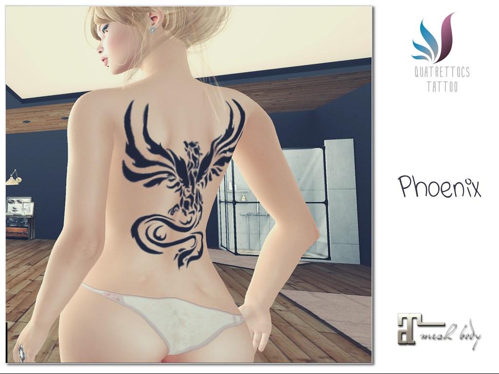 Phoenix Tattoo Maitreya - SecondLifeHub.com