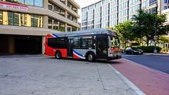 WMATA Metrobus 2012 Orion VII 3G HEV #3076