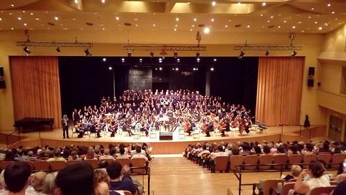 Concierto en Sevilla de la Coral Regina Coeli homenaje a Juan Rodríguez Romero