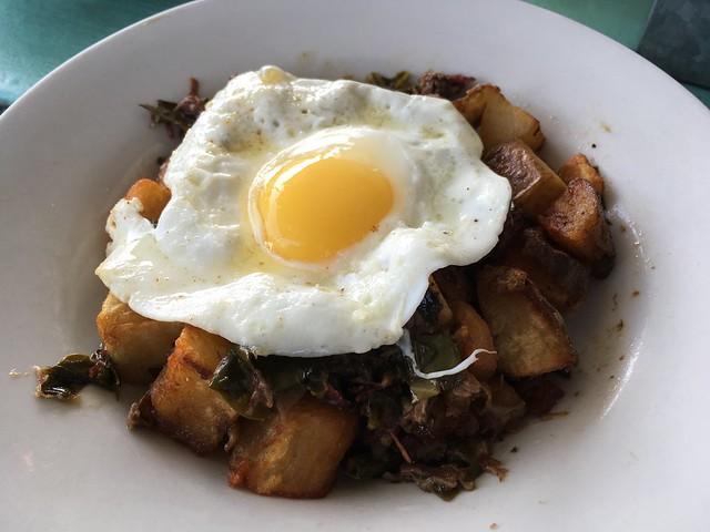 Smoked brisket hash - The Fremont Diner