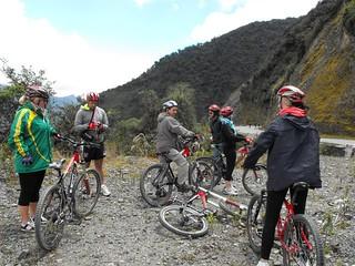 Bike Ride on the Way to Machu Pichu