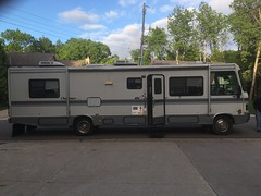 RV motorhome trailer towing