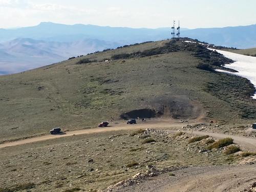 peavinepeak reno nv mountain view jeeps communications towers guns shooting peavine guncontrol america