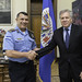 Secretary General Meets with Deputy Director of Honduran National Police
