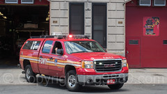 FDNY Battalion 17 Fire Chief Vehicle, Morrisania, Bronx, New York City