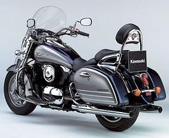 Kawasaki VN 1600 Classic Tourer 2007 - 8