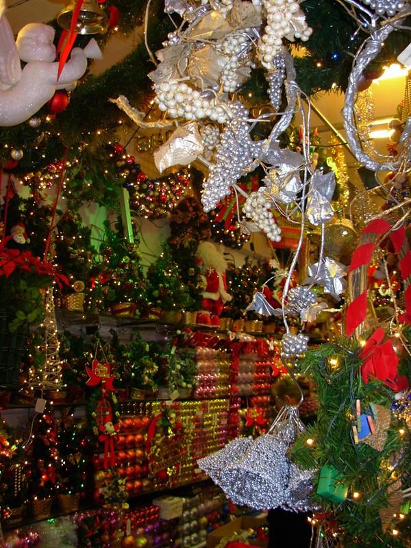 Christmas shop in Daejeon, Korea
