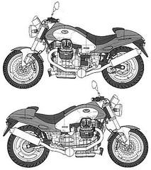 Moto-Guzzi 1000 V10 CENTAURO 1999 - 10
