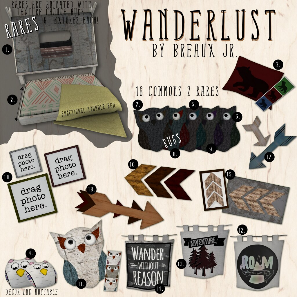 Wanderlust Gacha Key - SecondLifeHub.com