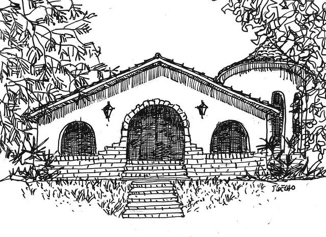 Casa de Hóspedes da CSN. Vila dos Engenheiros Tubarão SC.  06 jun  2017