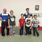 Kinder- u. Erwachsenen Gurtprüfungen/Training 15.6.2017
