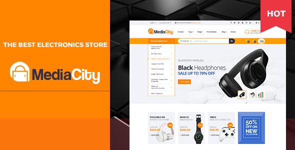 MediaCity v1.0 – Technology Responsive Magento Theme
