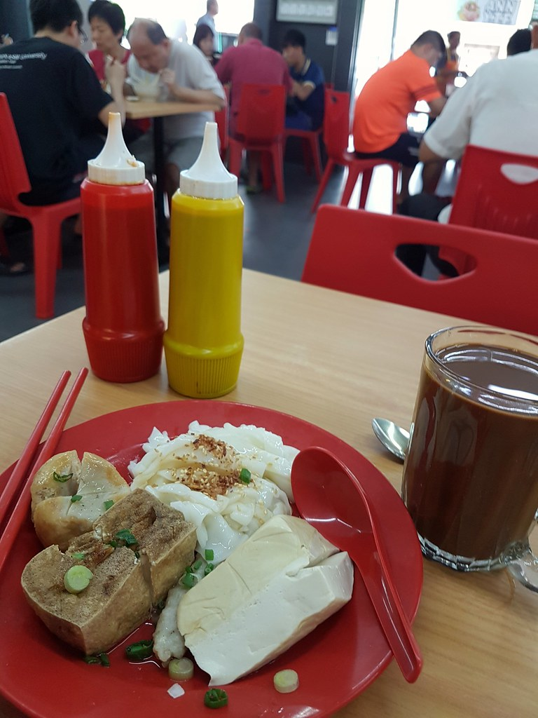 猪肠粉 $5.60 @ ANN YongTauFoo Restoran NSV USJ 6 新海景餐馆