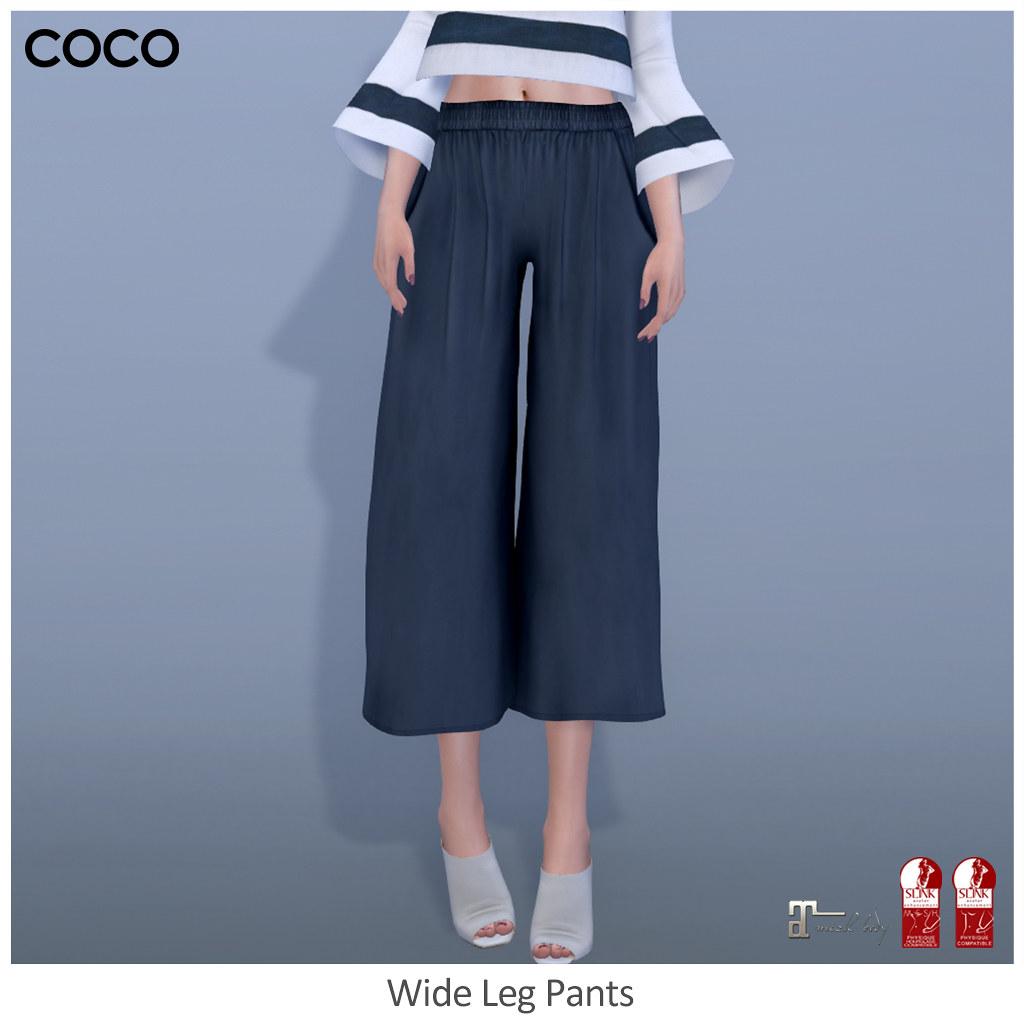 COCO_WideLegPants - SecondLifeHub.com