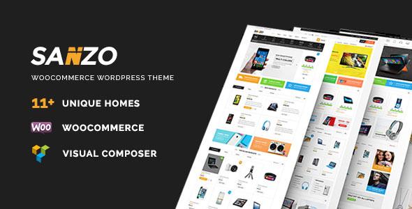Sanzo v1.0.7 - Responsive WooCommerce WordPress Theme