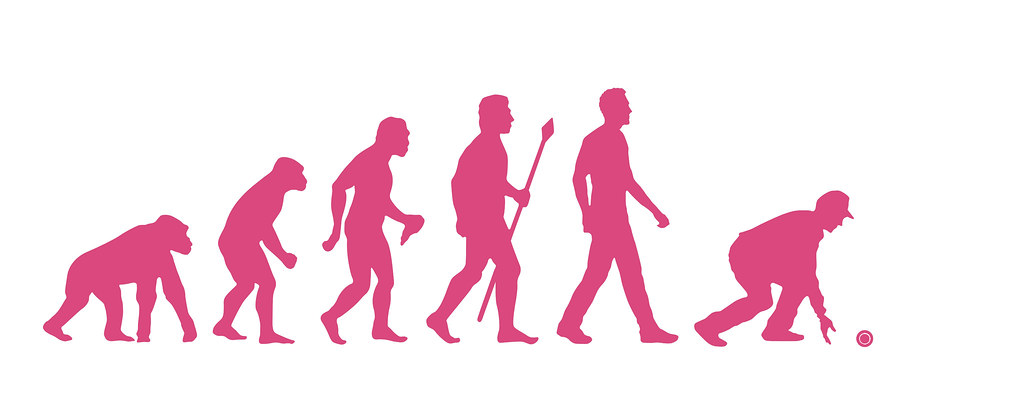 """Evolution of Bowler - Pink   Add """"Bowls Clip Art"""" and """"Bowls"""