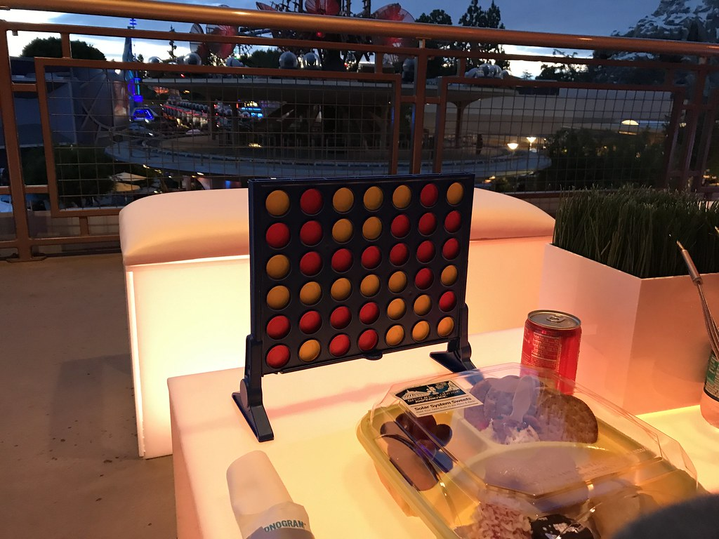 $45 for dessert and Connect Four? Just come to my place and I'll host you for $20 a person, buy a box of Zingers, and play a Fireworks video on my TV.