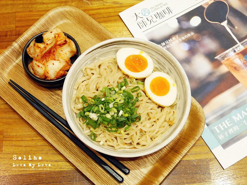 台北松山南京三民站附近餐廳推薦大師兄咖啡早午餐好吃麵 (11)