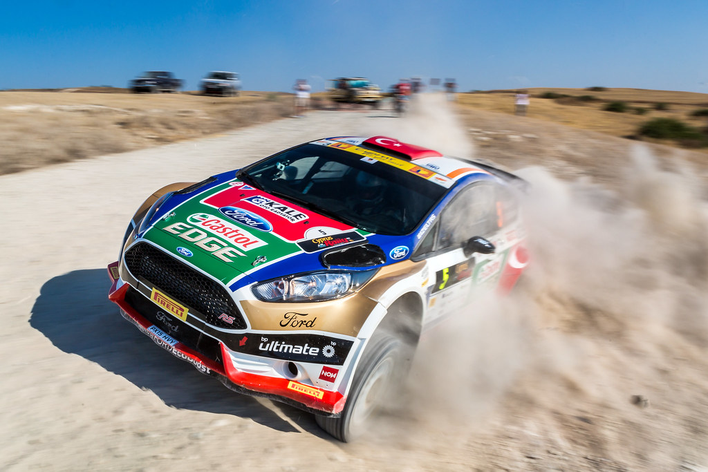 05 BOSTANCI Murat (tur) and VATANSEVER Onur (tur) CASTROL FORD TEAM TUÌRKIYE FORD FIESTA R5 action during the 2017 European Rally Championship ERC Cyprus Rally,  from june 16 to 18  at Nicosie, Cyprus - Photo Thomas Fenetre / DPPI