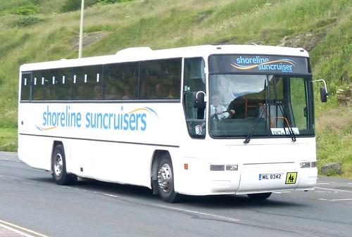 MIL 8342 'Shoreline Suncruisers' Volvo B10M / Plaxton Premiere on 'Dennis Basford's railsroadsrunways.blogspot.co.uk'