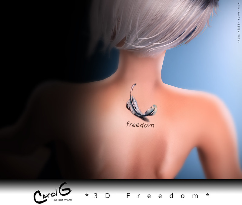 3D Tattoo - Freedom [CAROL G]