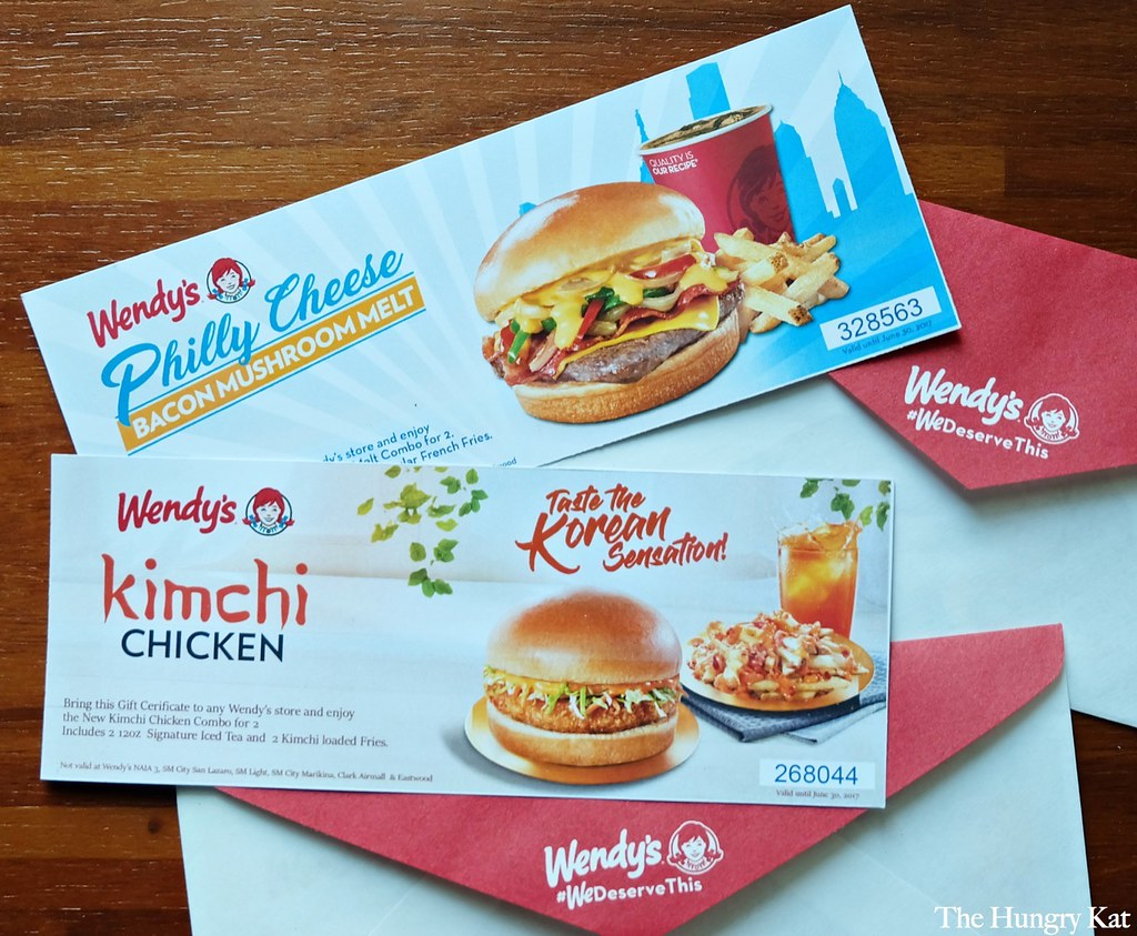 The Hungry Kat — Wendy's Goes Korean with the New Kimchi Chicken...