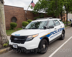 MTA Police Patrol Car, Tompkinsville, Staten Island, New York City