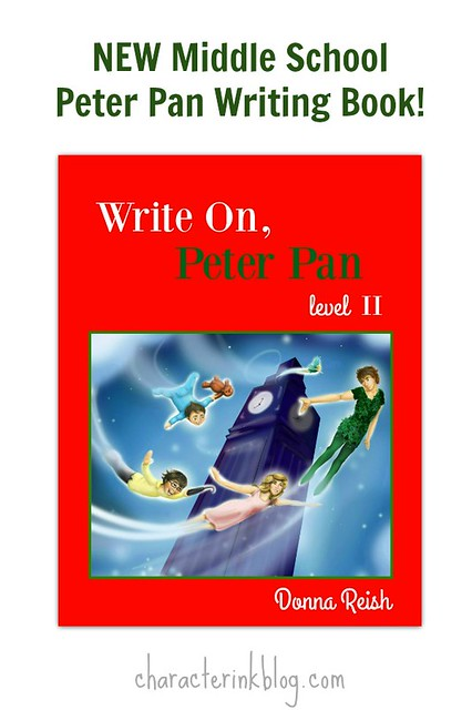 New Middle School Peter Pan Writing Book (Downloadable and Print Versions!)