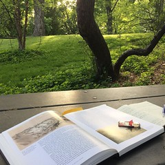 It's a beautiful day for conference prep. #railroads, #time, #ghoststories