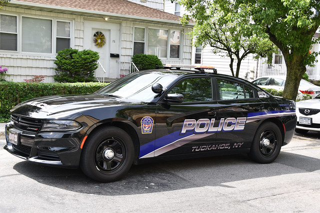 Picture Of  Village Of Tuckahoe New York Police Department Car # 20 - 2016 Dodge Charger. Photo Taken Sunday May 28, 2017