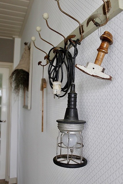 Kapstok looplamp decoratie