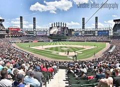 What a beautiful day for a ballgame.  Go White Sox!!  #memorialday2017 #soxgameday #soxpark #mlb #chicagowhitesox #chicago