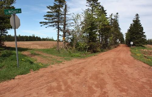 southgranville pei canada road dirtroad redclay clayroad