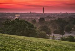 Sunrise from Arlington National Cemetery