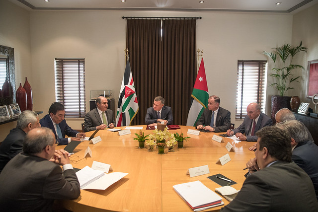 جلالة الملك عبدالله الثاني يترأس اجتماعا لمتابعة تنفيذ توصيات اللجنة الملكية لتطوير الجهاز القضائي وتعزيز سيادة القانون