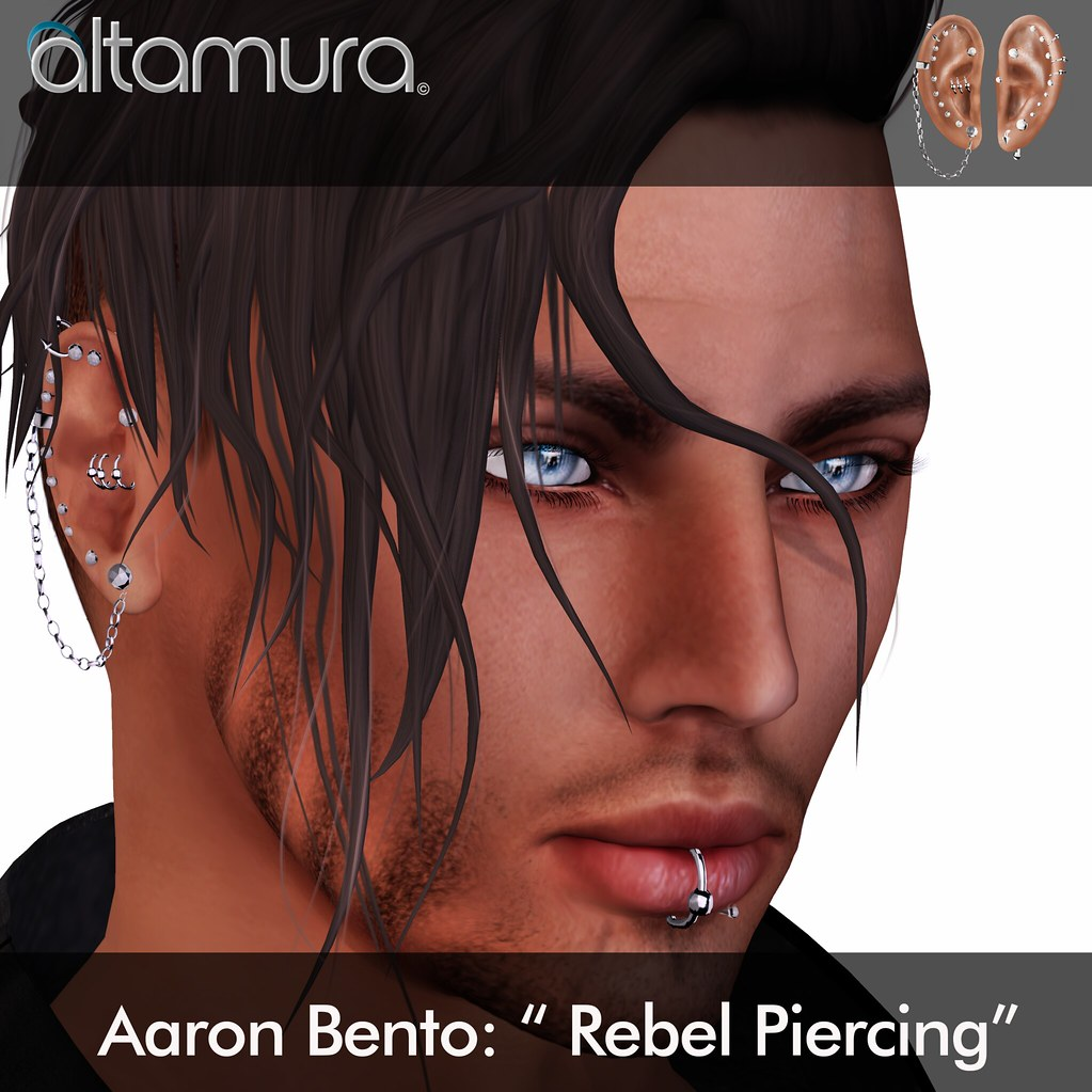 "Altamura Group: ""Aaron Bento Rebel Piercing"" - SecondLifeHub.com"