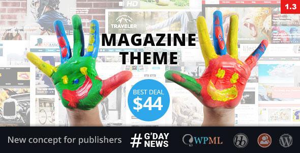 GDN Magazine Theme v2.3