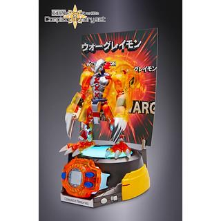 《數碼寶貝大冒險》 超進化魂 戰鬥暴龍獸 透明版& 怪獸對打機 神聖計畫 Ver.15th Complete Memory set